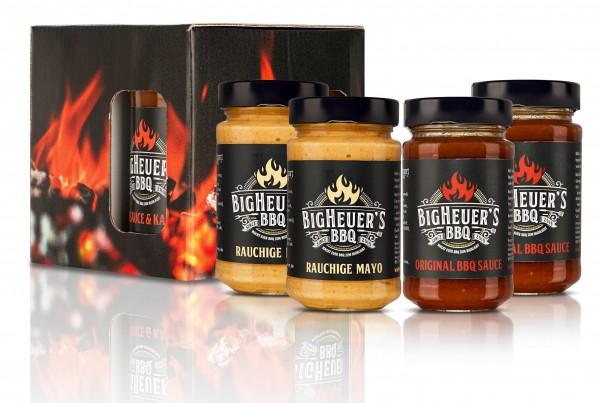 Geschenk-Set rauchige Mayo & BBQ-Sauce