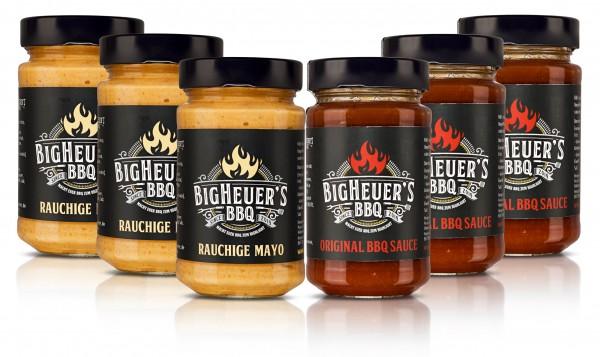 Sparpaket rauchige Mayo & BBQ Sauce